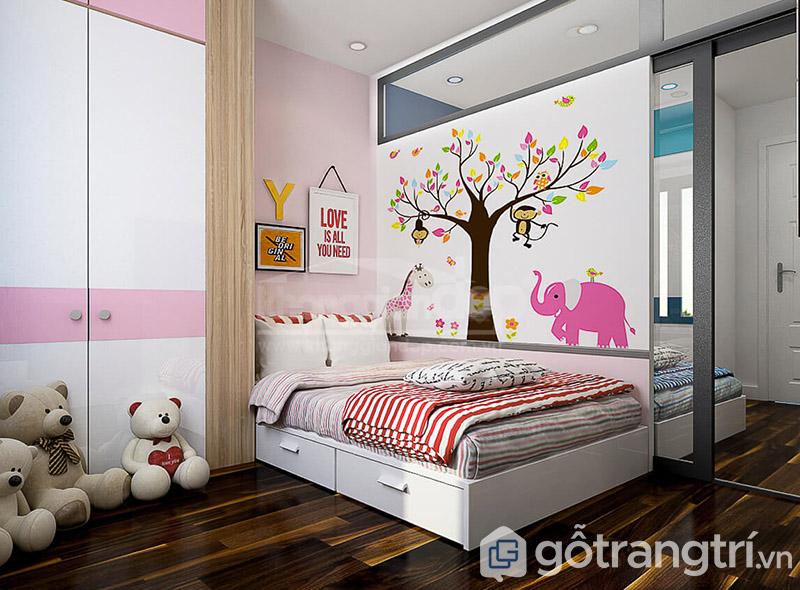 Giường ngủ cho bé gái 10 tuổi đẹp