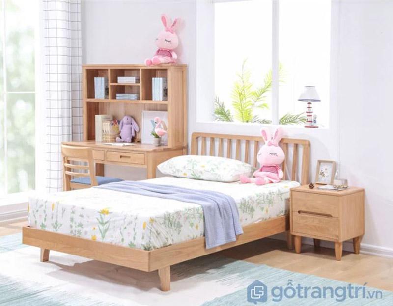Giường ngủ cho bé gái 10 tuổi
