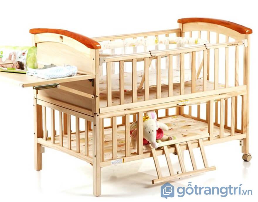 giường ngủ cho bé sơ sinh