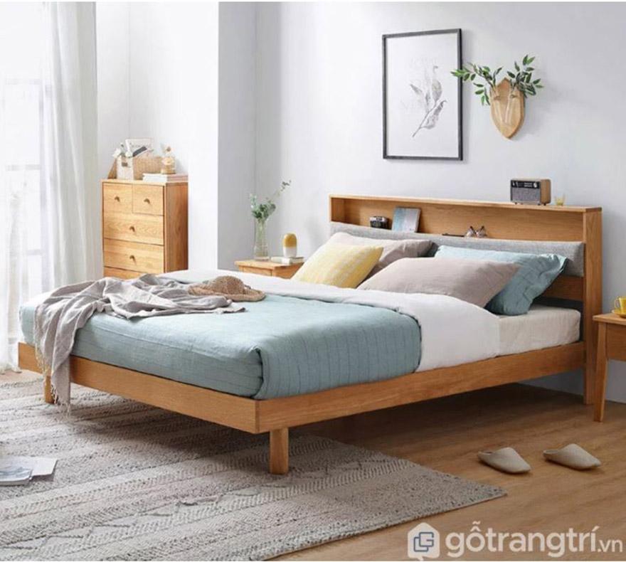 Giường ngủ thanh lịch GHS - 9082