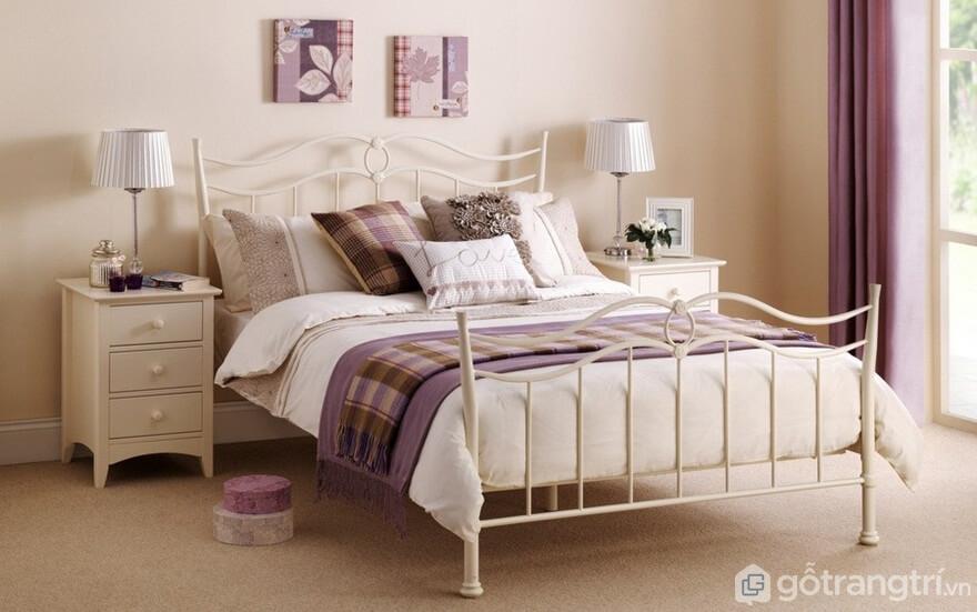Giường ngủ Hàn Quốc với thiết kế khá mềm mại - Ảnh: Internet