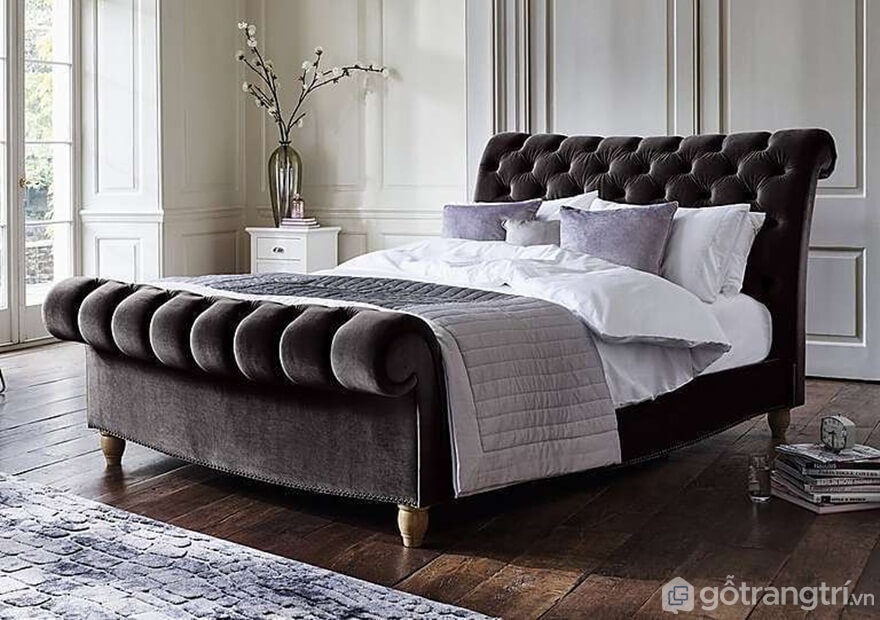 Giường ngủ Hàn Quốc dáng sofa mẫu 02 - Ảnh: Internet