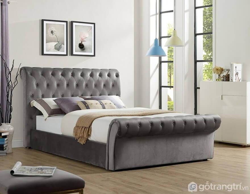 Giường ngủ Hàn Quốc dáng sofa mẫu 03 - Ảnh: Internet