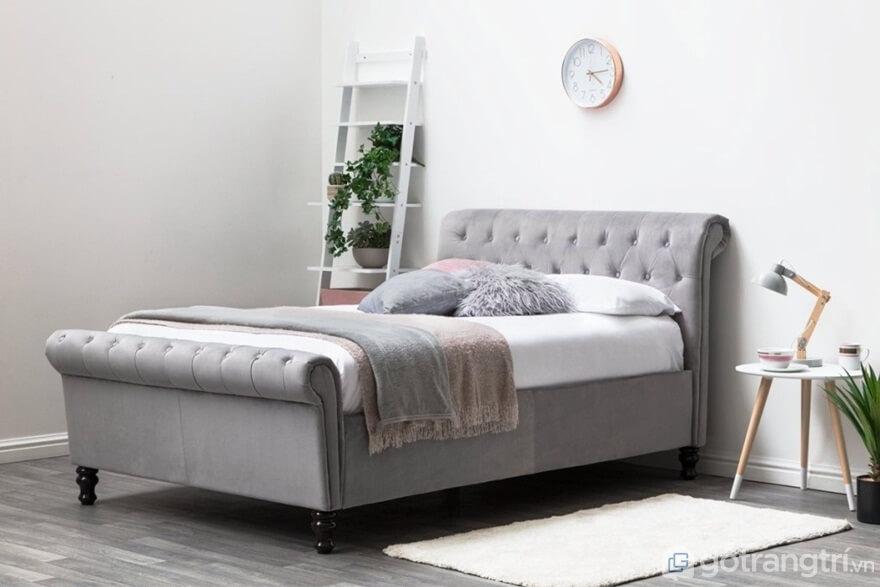Giường ngủ Hàn Quốc dáng sofa mẫu 07 - Ảnh: Internet