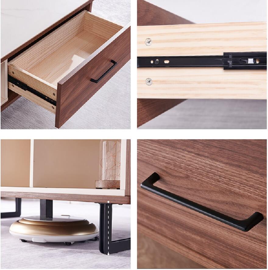Thiết kế kích thước phù hợp, vân gỗ tự nhiên sang trọng và hiện đại