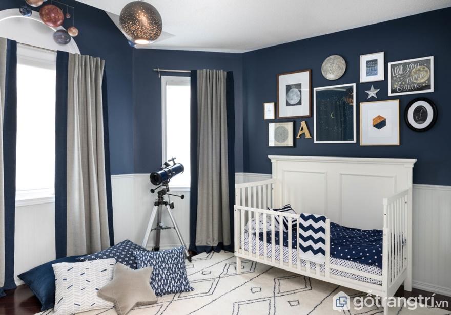 Giường ngủ đẹp dành cho bé trai - Ảnh: Internet