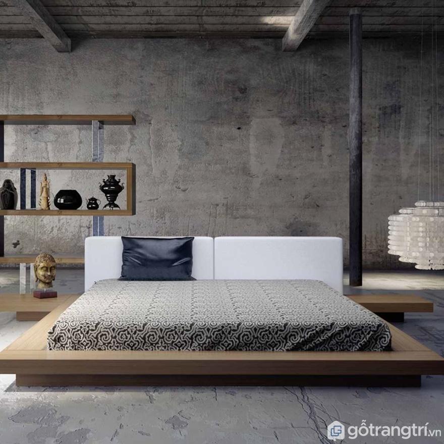 Giường ngủ đơn giản luôn tạo được sự bình yên cho người sử dụng - Ảnh: Internet