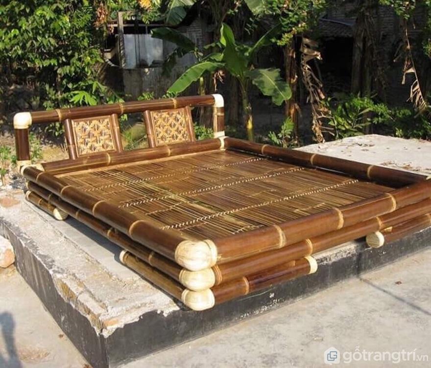 Mẫu giường tre đẹp - Ảnh: Internet