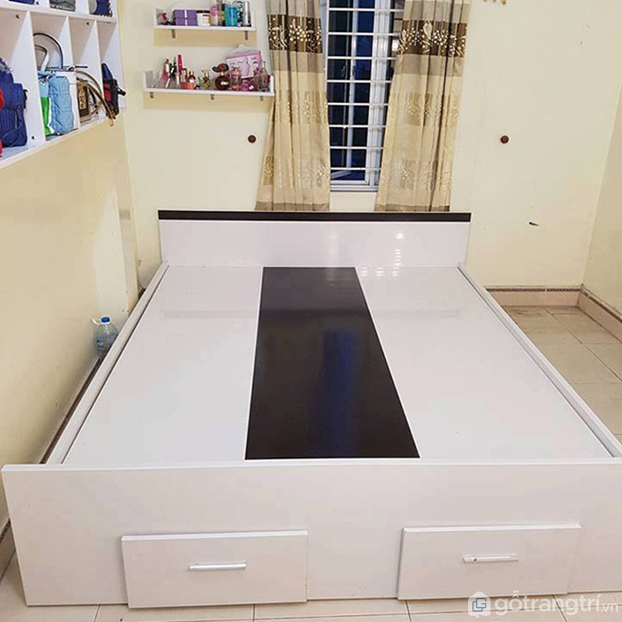 Mẫu giường nhựa đẹp - Ảnh: Internet