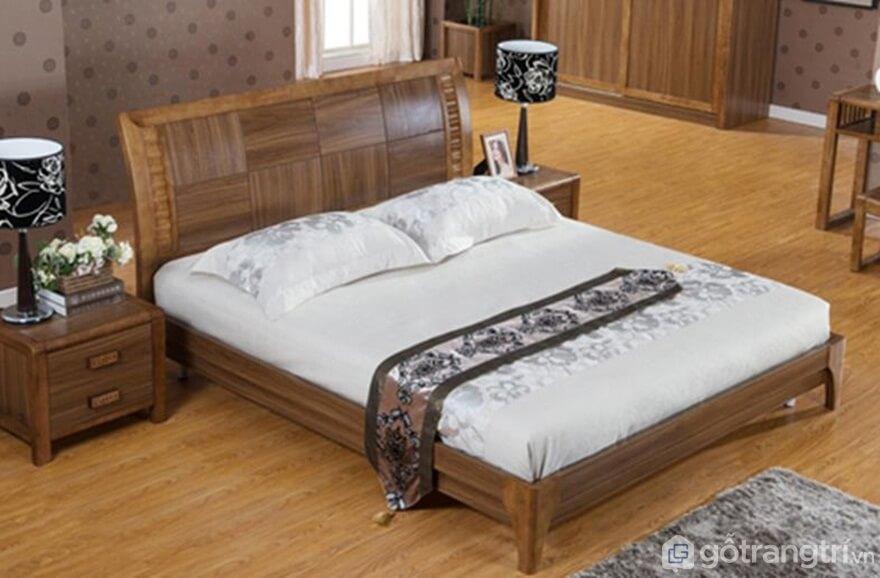 Chất liệu của giường ngủ - Ảnh: Internet