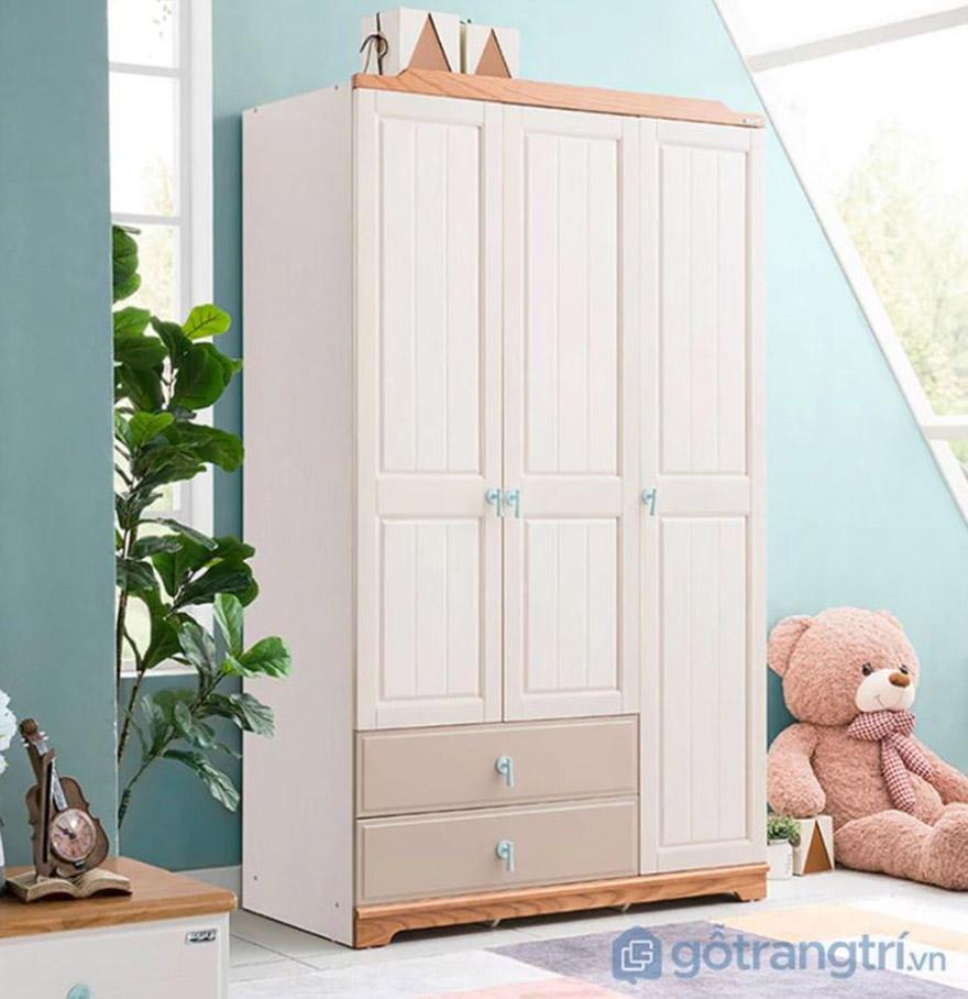 Tủ quần áo hiện đại bằng gỗ GHS- 5907