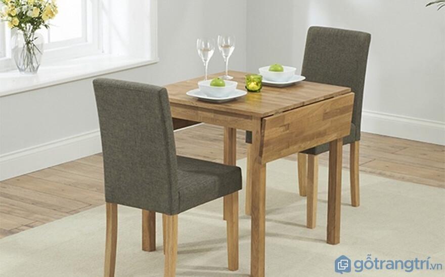 Đơn giản nhẹ nhàng với phần bọc đệm khá ấn tượng bộ bàn ăn nhà bếp 2 ghế luôn mang đến vẻ đẹp gần gũi cho mọi không gian sống - Ảnh: Internet