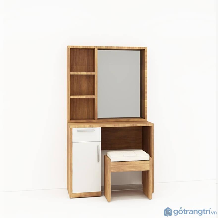 Mẫu bàn phấn trang điểm gỗ công nghiệp MFC đẹp nhất hiện nay - Mẫu 03 (Ảnh: Internet)