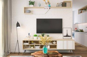 25+ Mẫu kệ tivi đơn giản mà đẹp bất chấp mọi không gian