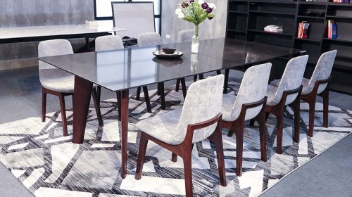 Đã mắt với loạt bàn ăn 8 ghế hiện đại đẹp mà chất