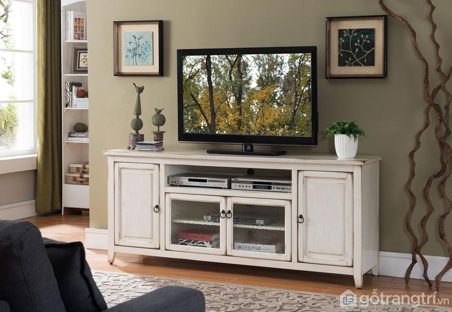 Lựa chọn đơn vị bán kệ tivi 3 tầng đẹp - Ảnh: Internet