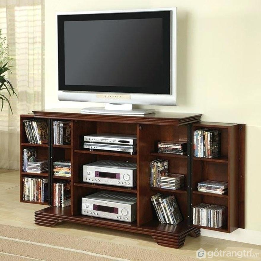 [Tuyển chọn]: Các mẫu kệ tivi 3 tầng đẹp nhất dành cho phòng khách - Ảnh: Internet