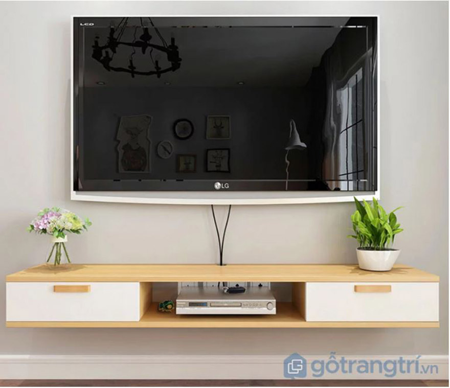 Kệ tivi đơn giản mà đẹp