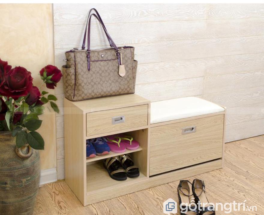 Tủ giày mini bậc thang đẹp
