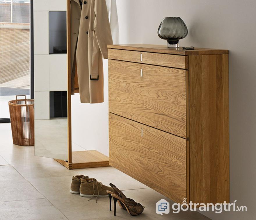 tủ giầy mini gỗ công nghiệp