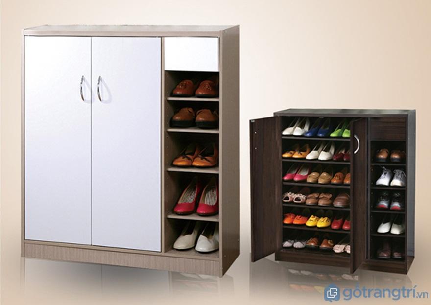 Tủ giày thông minh gỗ công nghiệp - Ảnh: Internet