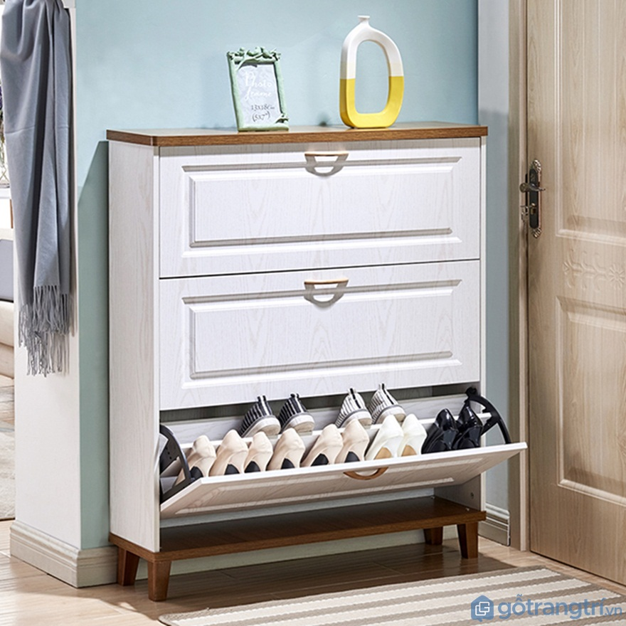 Tủ giày thông minh 3 cánh lùa - Ảnh: Internet