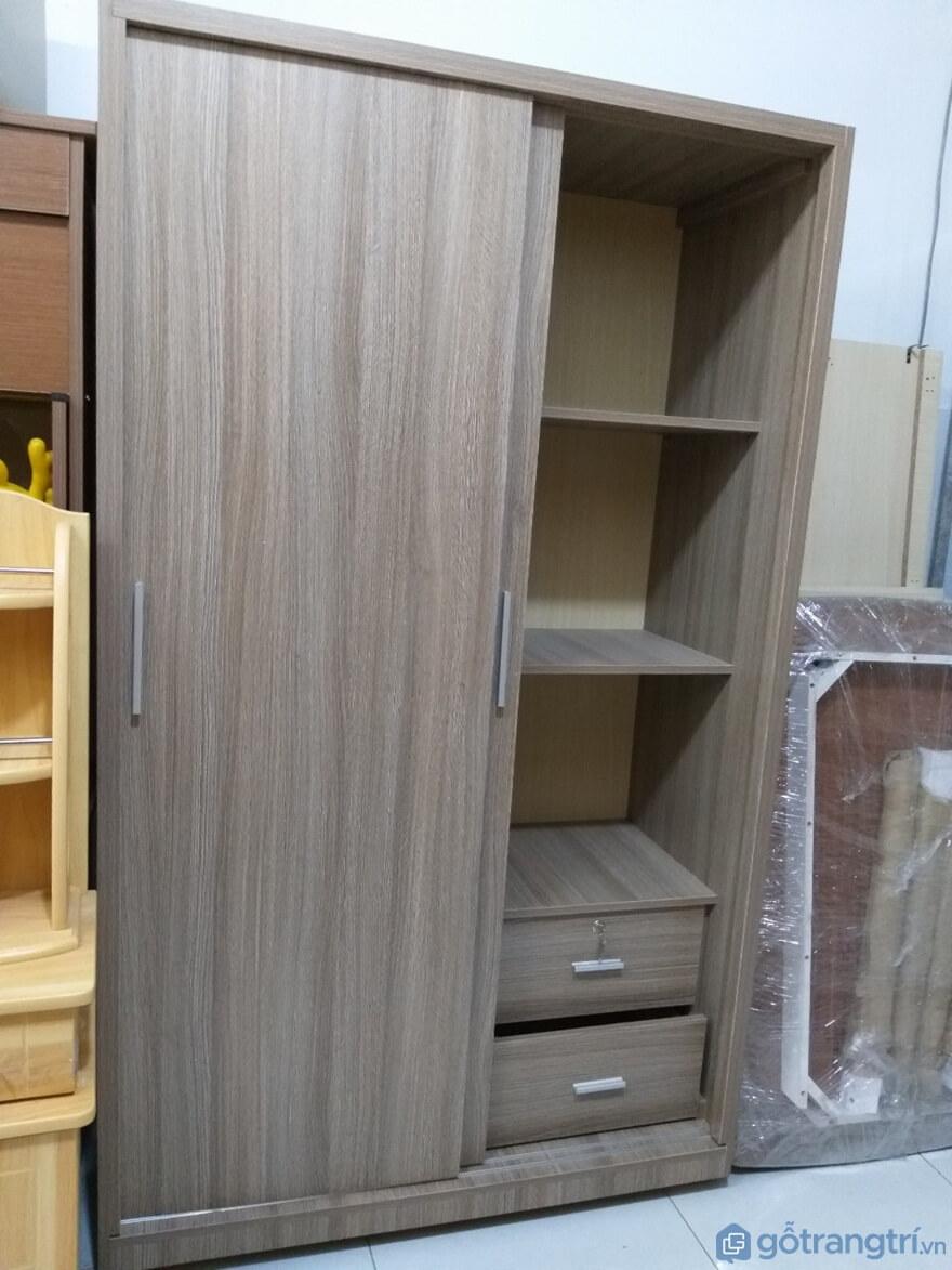 Tủ quần áo làm từ gỗ công nghiệp - Ảnh: Internet