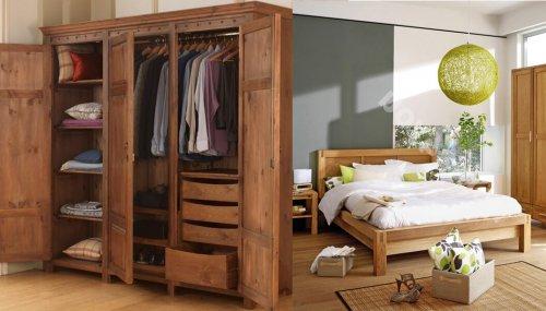 Tại sao tủ quần áo 3 buồng gỗ tự nhiên lại được nhiều người lựa chọn?