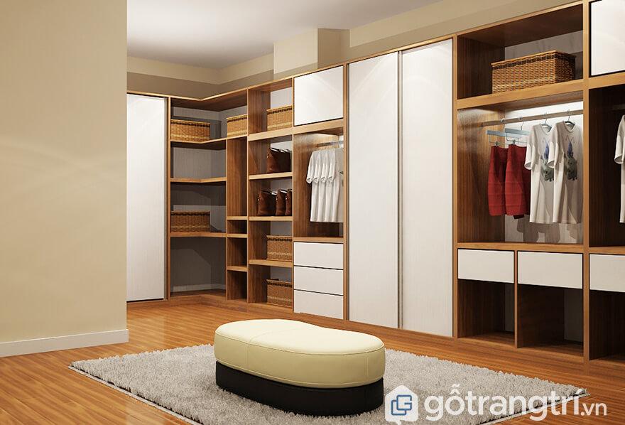 Tủ quần áo Hàn Quốc đệp