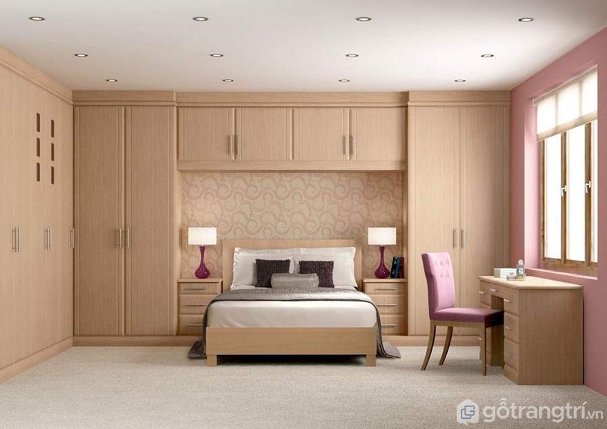 Tủ quần áo thông minh kết hợp với giường ngủ - Mẫu 13 (Ảnh: Internet)