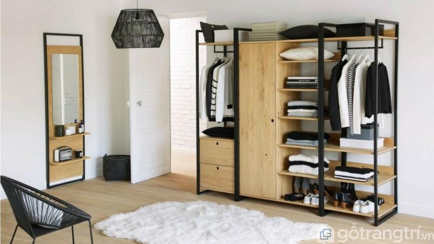 Tủ quần áo treo tường - Giải pháp thong minh cho không gian nhà nhỏ.