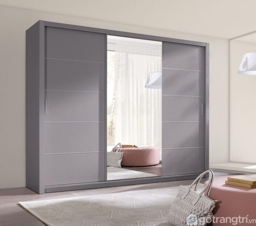 Tủ quần áo treo tường - Giải pháp thông minh cho không gian nhà nhỏ.