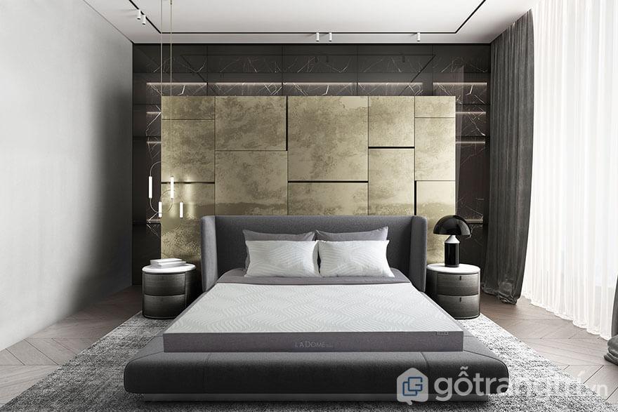 Nem-cao-su-than-hoat-tinh-La-Dome-Grey-15cm