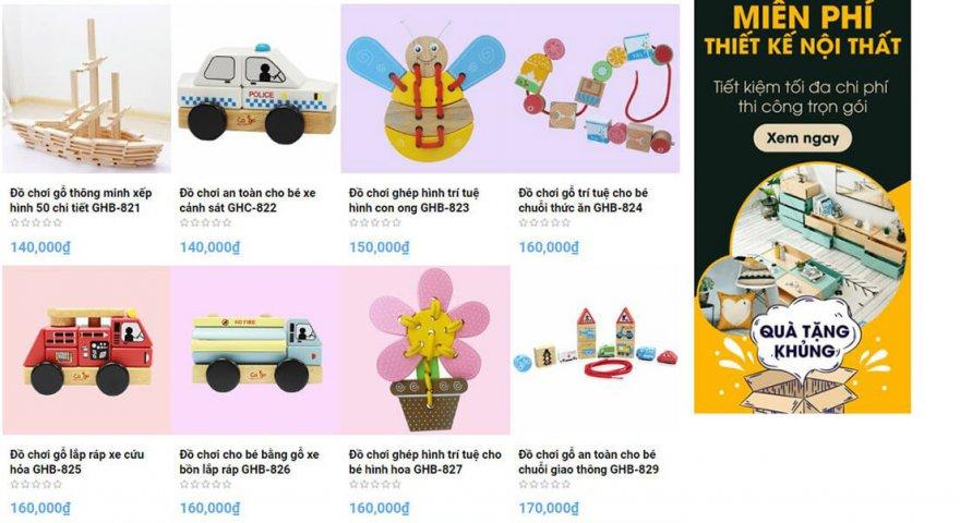 TOP 5 Shop đồ chơi trẻ em uy tín, chất lượng nhất 2020