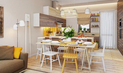 Nghệ thuật trang trí bàn ăn đón Tết cho căn bếp bừng sáng