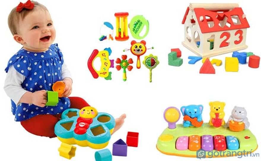 Chọn đồ chơi cho bé gái dưới 2 tuổi - Ảnh: Internet