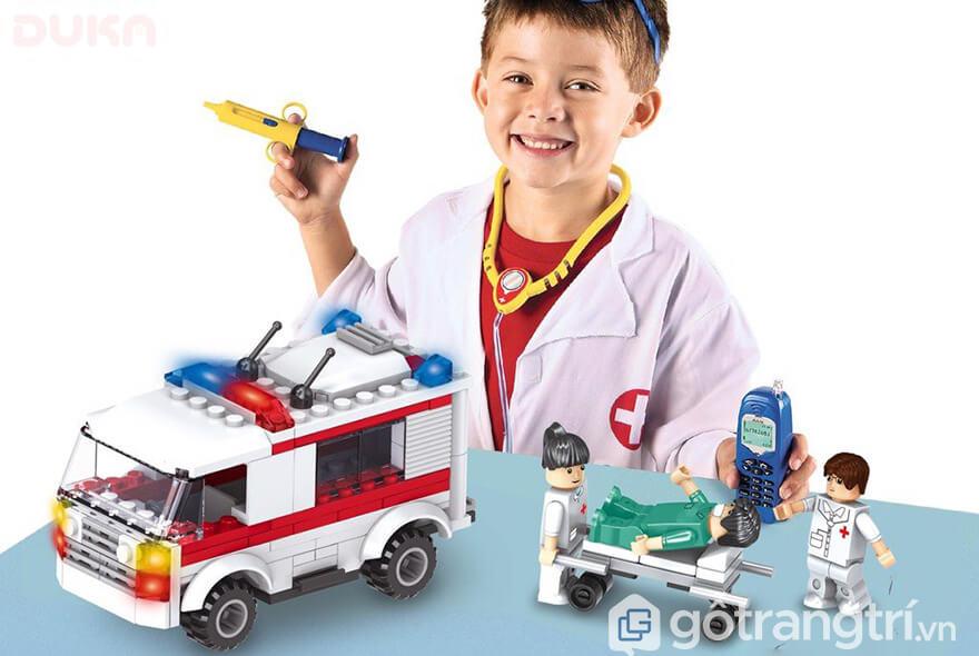 Đồ chơi bác sĩ cứu thương
