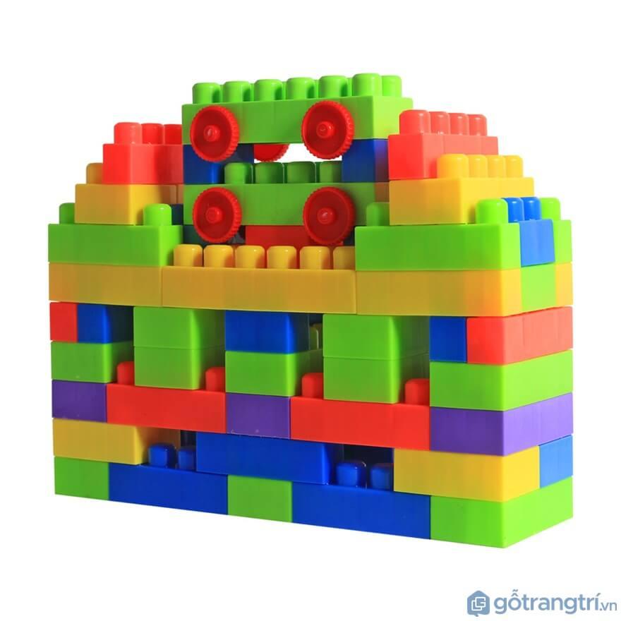 Đồ chơi dành cho bé trai 5 tuổi lắp ráp - Ảnh: Internet