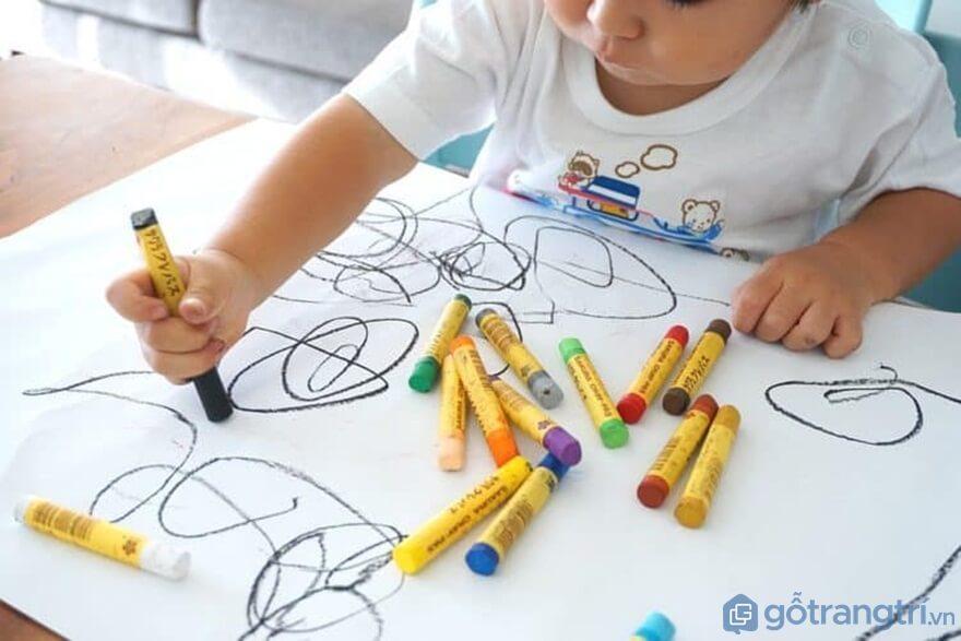 Đồ chơi bút chì màu - Ảnh: Internet