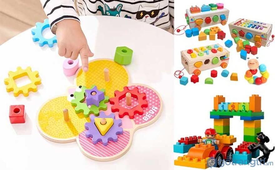Gợi ý đồ chơi cho bé 2 tuổi giúp trẻ phát triển trí thông minh - Ảnh: Internet