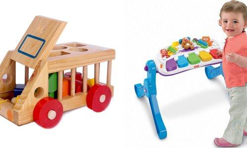 TOP 10 món đồ chơi cho bé 1 tuổi giúp trẻ thông minh phát triển tư duy