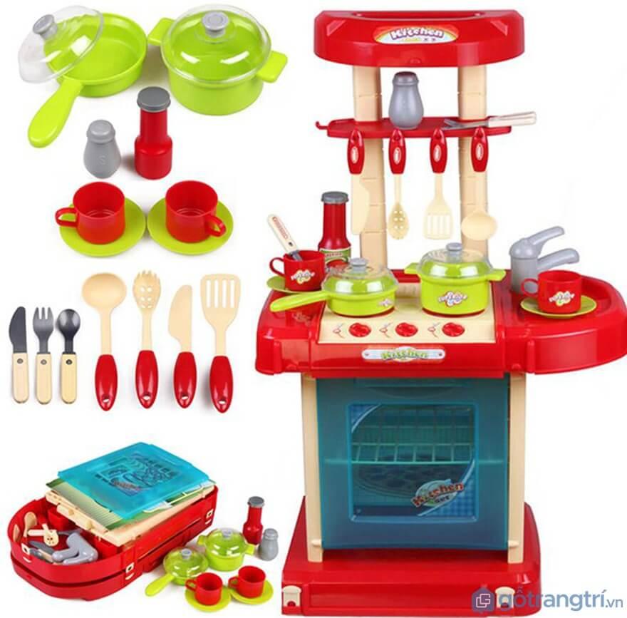 Giúp trẻ phát triển toàn diện với bộ đồ chơi nấu ăn - Ảnh: Internet