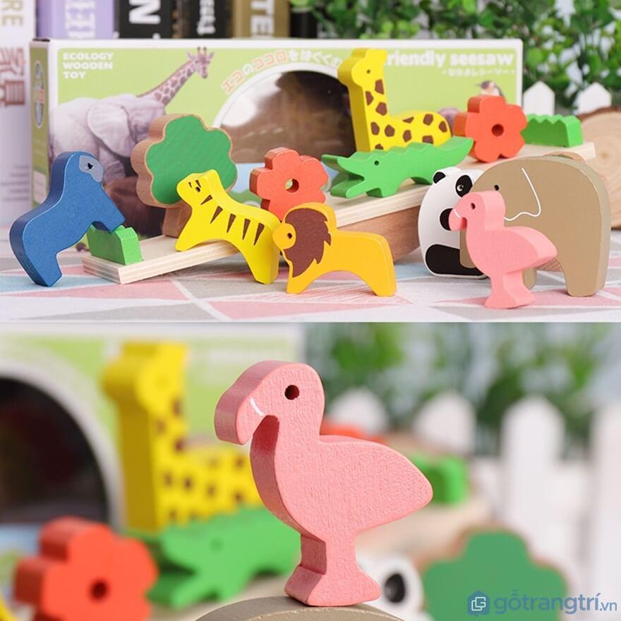 Đối với trẻ từ 4 - 5 tuổi nên chọn đồ chơi lắp ráp loài vật - Ảnh: Internet