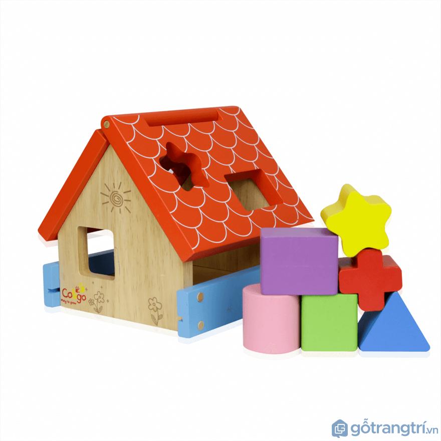 Đối với trẻ con ở giai đoạn từ 16 – 24 tháng tuổi thì cha mẹ chọn đồ chơi thả khối - Ảnh: Internet
