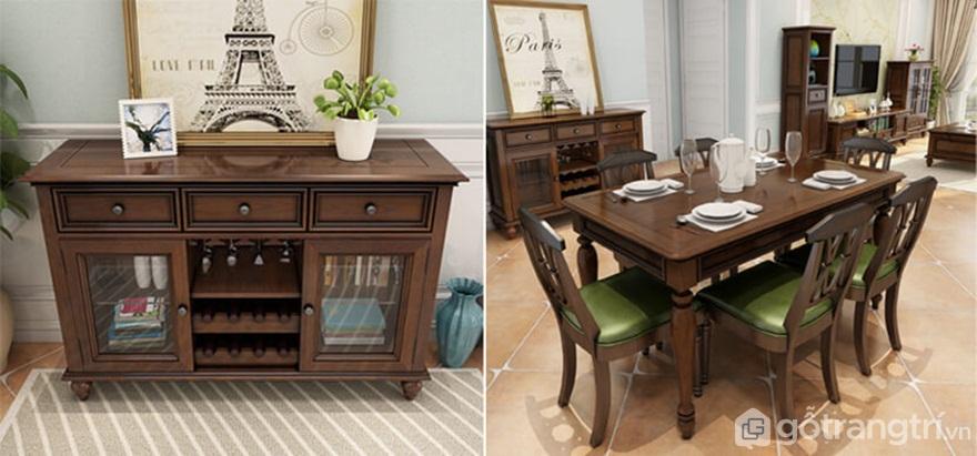 Vì sao mẫu tủ bếp đẹp bằng gỗ được nhiều gia đình sử dụng? - Ảnh: Internet
