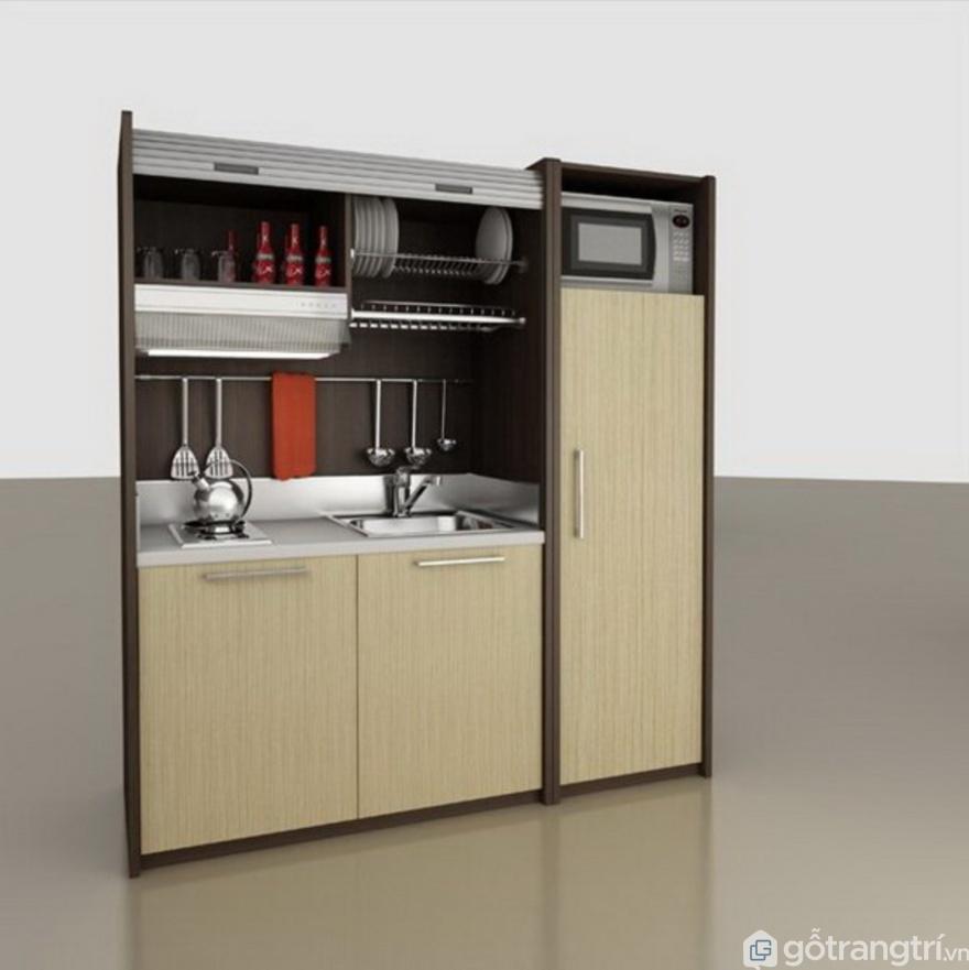 Kích thướctiêu chuẩn của kệ tủ bếp nhỏ - Ảnh: Internet