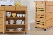 Khám phá những mẫu tủ bếp đẹp bằng gỗ thích hợp với gian bếp nhỏ