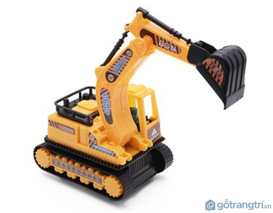 Xe cần cẩu chạy đà XNS Toys - Ảnh: Internet