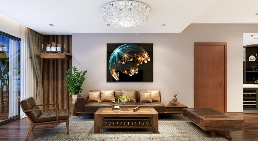 [Góc tư vấn]: Nên mua bàn ghế gỗ hay sofa cho phòng khách?