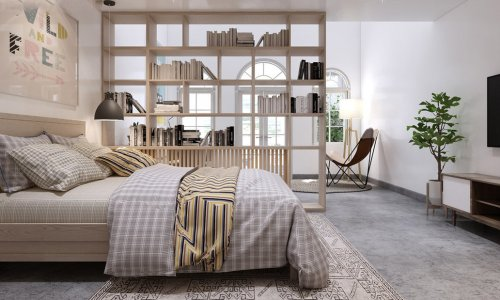 Vách ngăn phòng ngủ bằng gỗ nào phù hợp nhất dành cho bạn?